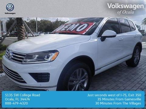 2016 Volkswagen Touareg for sale in Ocala, FL