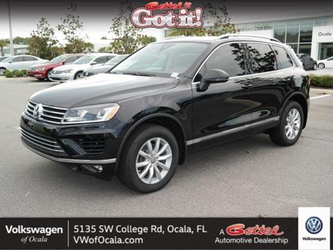 2017 Volkswagen Touareg for sale in Ocala, FL
