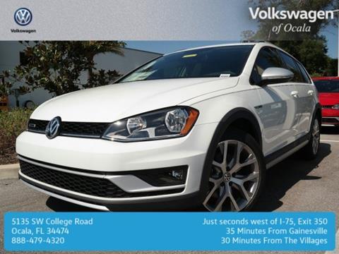 2017 Volkswagen Golf Alltrack for sale in Ocala FL