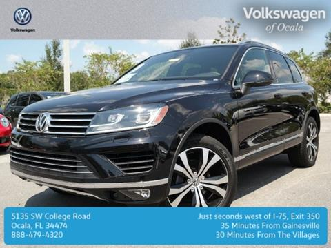 2017 Volkswagen Touareg for sale in Ocala FL
