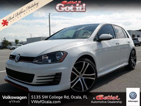 2017 Volkswagen Golf GTI for sale in Ocala FL