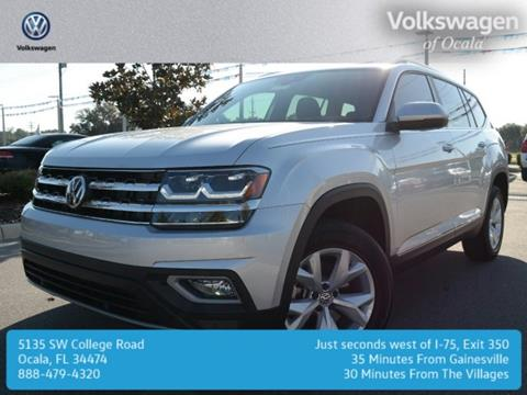 2018 Volkswagen Atlas for sale in Ocala FL