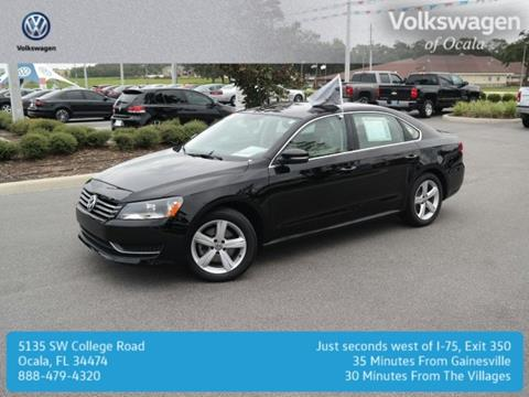 2015 Volkswagen Passat for sale in Ocala, FL