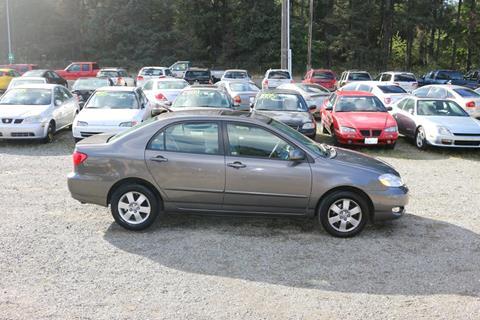 2007 Toyota Corolla for sale in Spanaway, WA