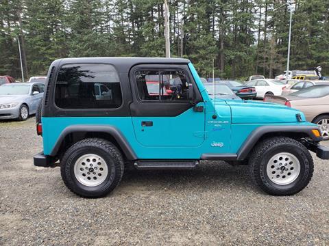 1997 Jeep Wrangler for sale in Spanaway, WA