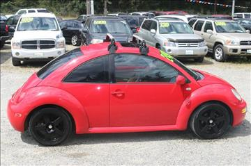 2002 Volkswagen New Beetle for sale in Spanaway, WA