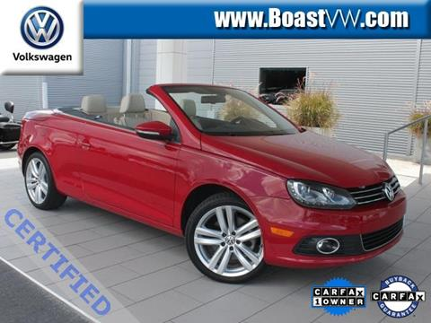 2014 Volkswagen Eos for sale in Bradenton FL