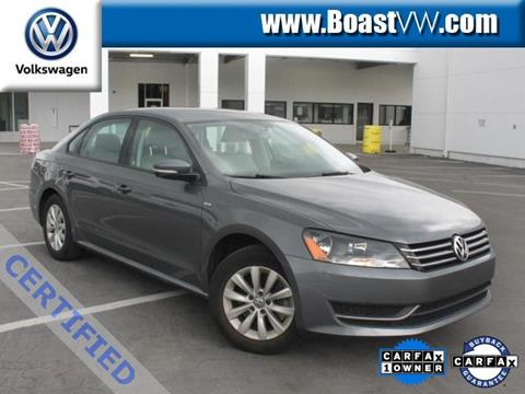 2015 Volkswagen Passat for sale in Bradenton, FL