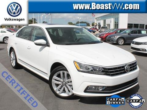 2017 Volkswagen Passat for sale in Bradenton FL