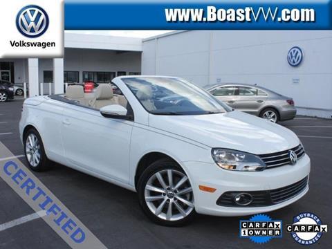 2015 Volkswagen Eos for sale in Bradenton, FL