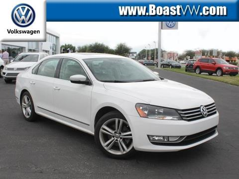 2015 Volkswagen Passat for sale in Bradenton FL