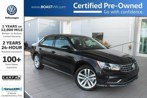 2019 Volkswagen Passat for sale in Bradenton, FL