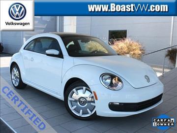 2015 Volkswagen Beetle for sale in Bradenton, FL