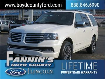 2016 Lincoln Navigator for sale in Ashland, KY