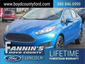 2016 Ford Fiesta for sale in Ashland, KY