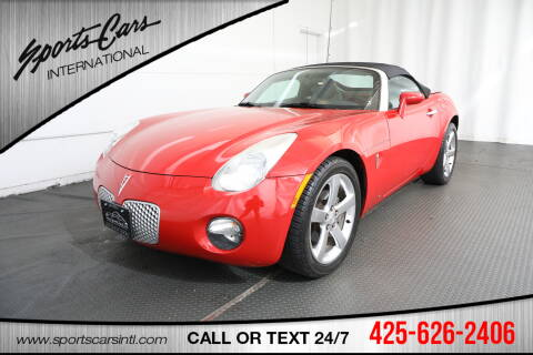 2007 Pontiac Solstice for sale in Bothell, WA