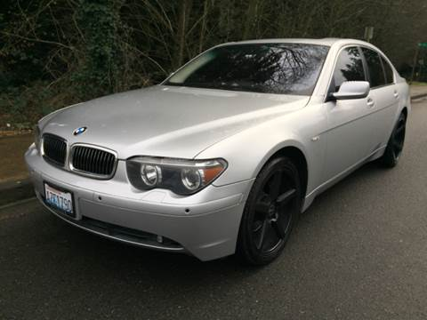 2004 BMW 7 Series for sale in Bothell, WA