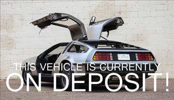 1981 DeLorean DMC-12 'Back to the Future' Ca