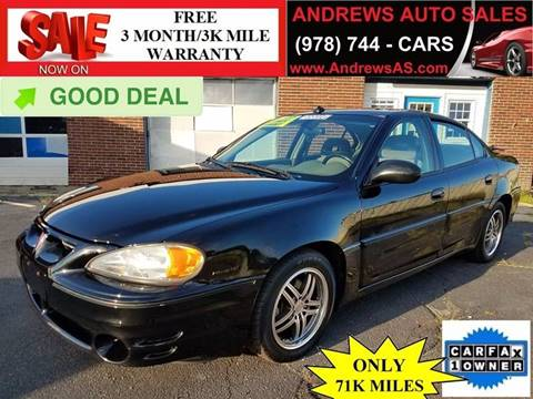 2003 Pontiac Grand Am for sale in Salem, MA