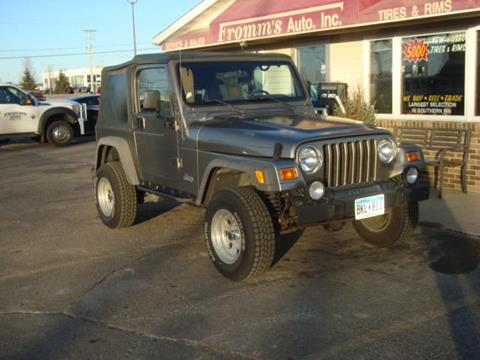 2002 Jeep Wrangler for sale in Mankato, MN