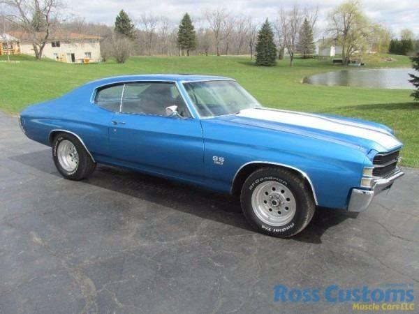 1971 Chevrolet Chevelle SS 350 In Goodrich MI