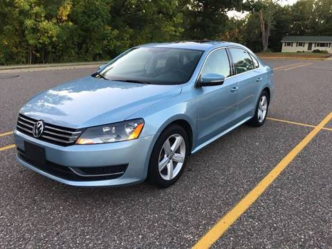 2013 Volkswagen Passat for sale in North Branch, MN