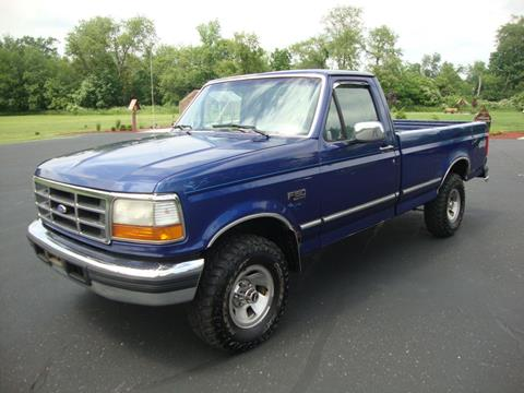 1996 Ford F-150 for sale in Lexington, OH