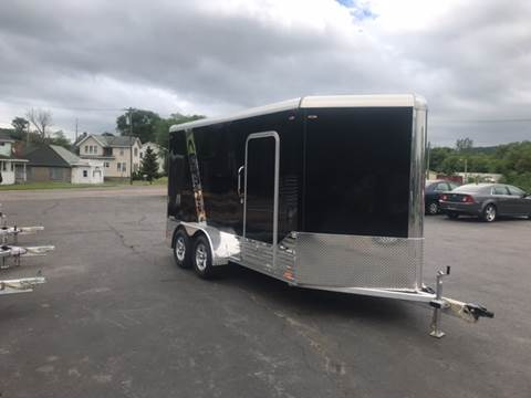 2018 Legend  Deluxe V-Nose 7x17 for sale at WXM Auto in Cortland NY