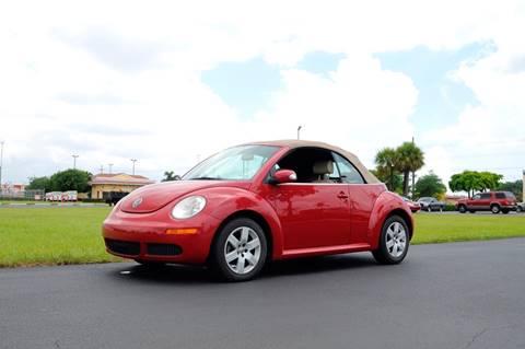 2007 Volkswagen New Beetle for sale in Hallandale Beach, FL