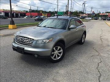 2005 Infiniti FX35 for sale in Temple Hills, MD