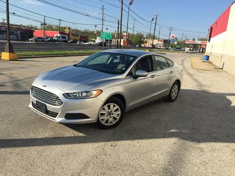 2013 Ford Fusion for sale in Temple Hills, MD