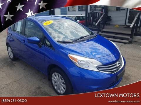2015 Nissan Versa Note for sale at LexTown Motors in Lexington KY