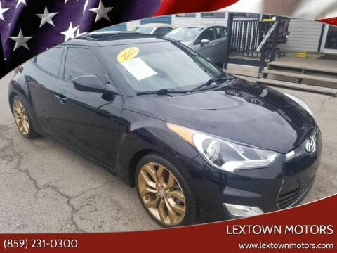 2013 Hyundai Veloster for sale at LexTown Motors in Lexington KY