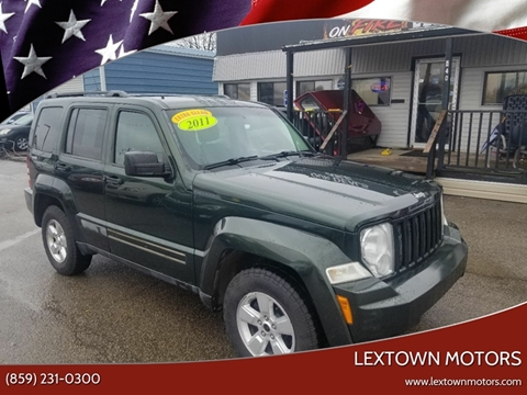 2011 Jeep Liberty for sale at LexTown Motors in Lexington KY