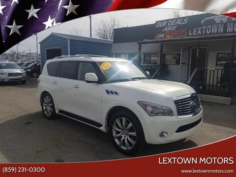 2013 Infiniti QX56 for sale at LexTown Motors in Lexington KY