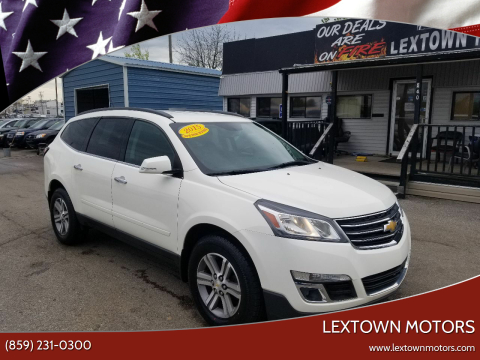 2015 Chevrolet Traverse for sale at LexTown Motors in Lexington KY