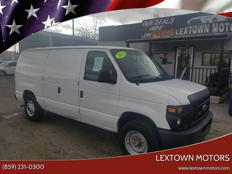 2012 Ford E-Series Cargo for sale at LexTown Motors in Lexington KY
