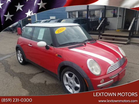 2003 MINI Cooper for sale at LexTown Motors in Lexington KY