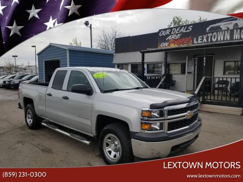 2014 Chevrolet Silverado 1500 for sale at LexTown Motors in Lexington KY