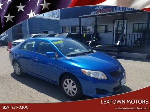 2009 Toyota Corolla for sale at LexTown Motors in Lexington KY