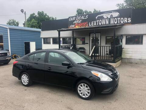 2019 Nissan Versa for sale at LexTown Motors in Lexington KY