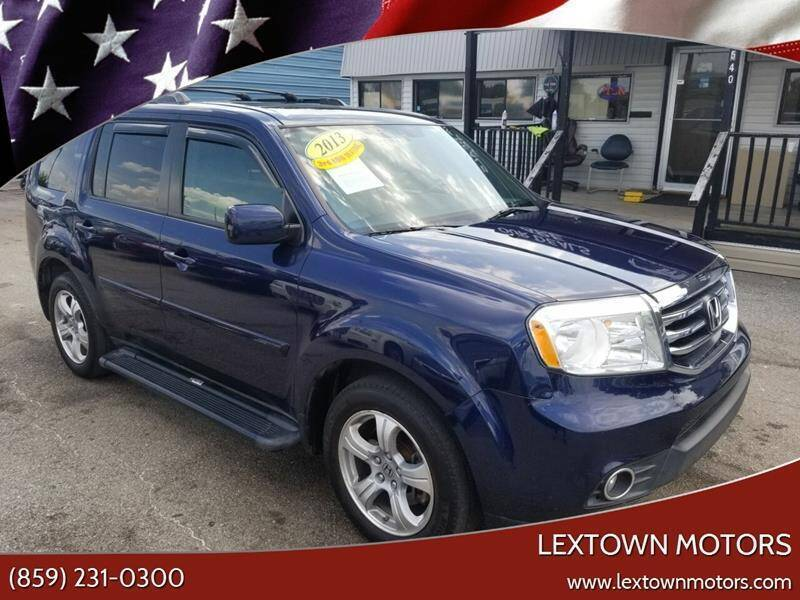 2013 Honda Pilot for sale at LexTown Motors in Lexington KY