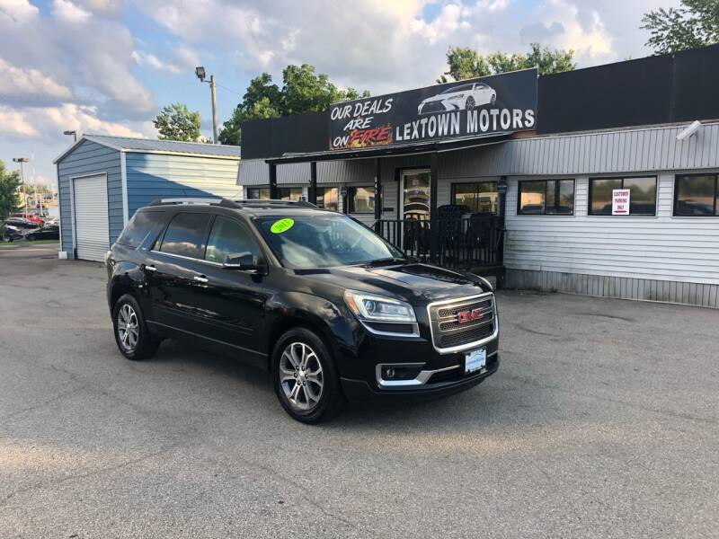 2013 GMC Acadia for sale at LexTown Motors in Lexington KY