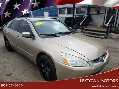2004 Honda Accord for sale at LexTown Motors in Lexington KY