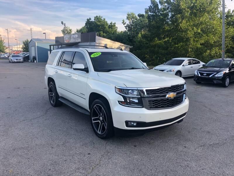 2015 Chevrolet Tahoe for sale at LexTown Motors in Lexington KY