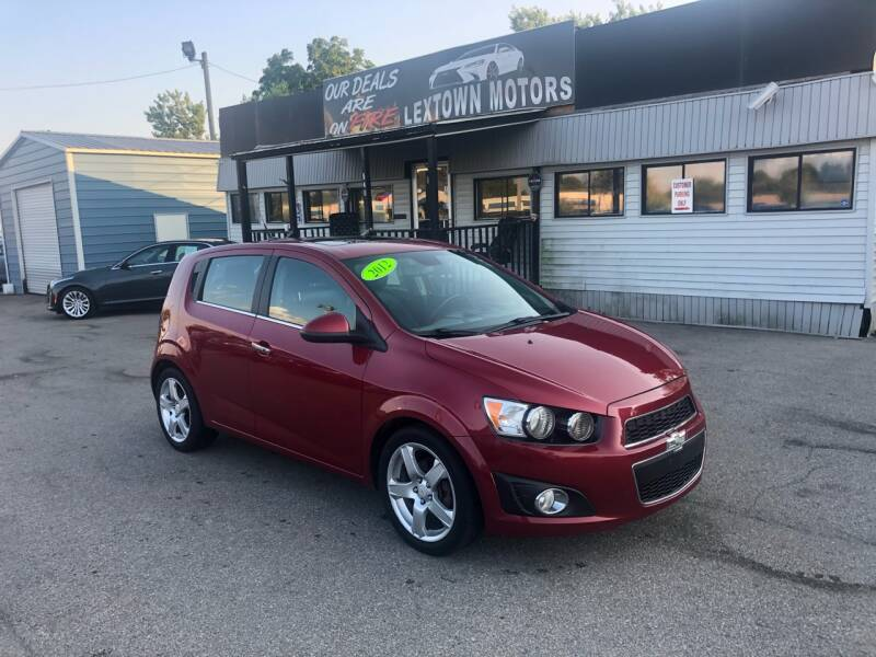 2012 Chevrolet Sonic for sale at LexTown Motors in Lexington KY