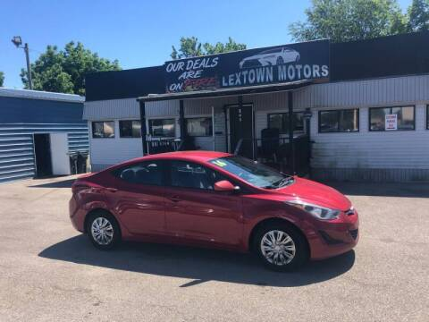 2016 Hyundai Elantra for sale at LexTown Motors in Lexington KY