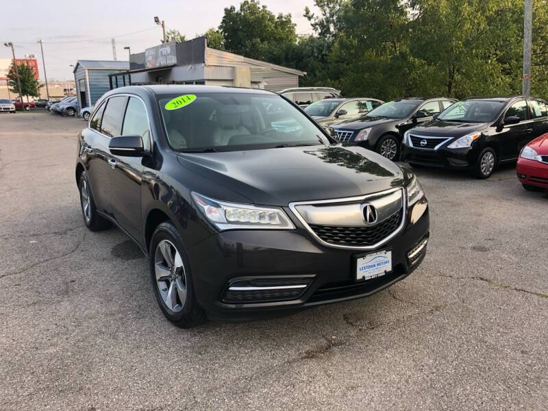 2014 Acura MDX for sale at LexTown Motors in Lexington KY