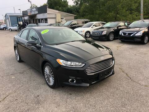 2015 Ford Fusion for sale at LexTown Motors in Lexington KY