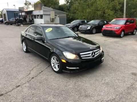 2012 Mercedes-Benz C-Class for sale at LexTown Motors in Lexington KY